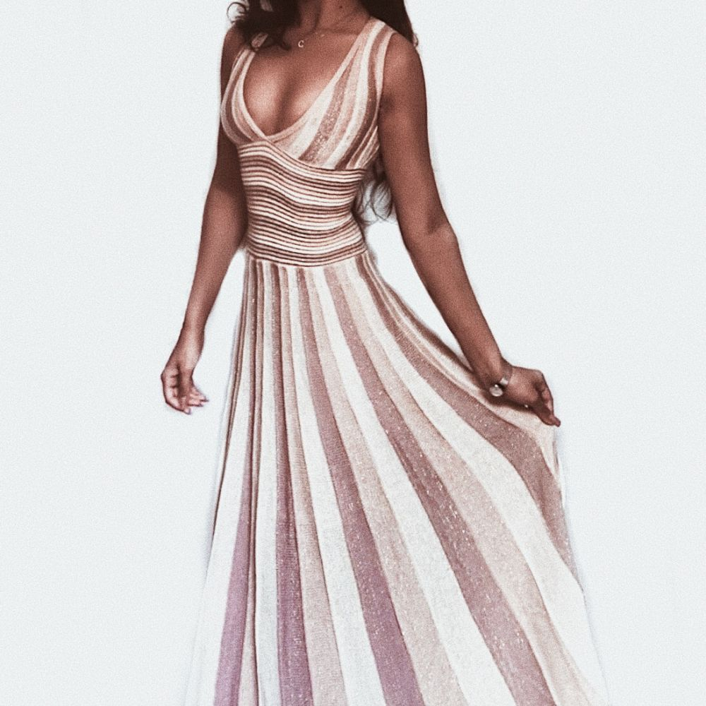 Phillin Vestido Rose Gold