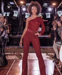 Jumpsuit EVA LOW Marsala